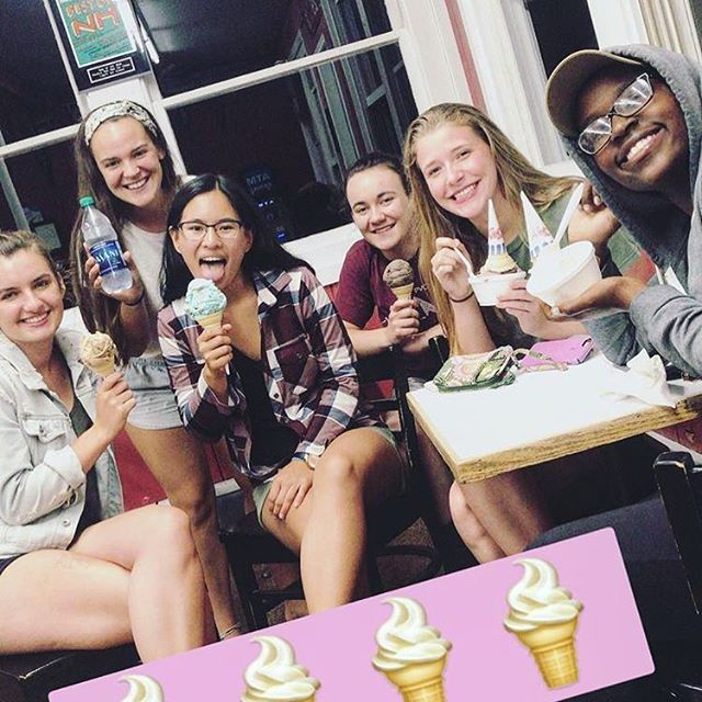 #tbt What do you miss more? The close-knit community or the late night ice cream runs? #tooclosetocall #bothtogether #crusummermission #asummerthatlasts