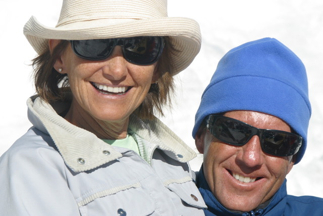 Kate and Ted ~ Portillo, Chile 2006