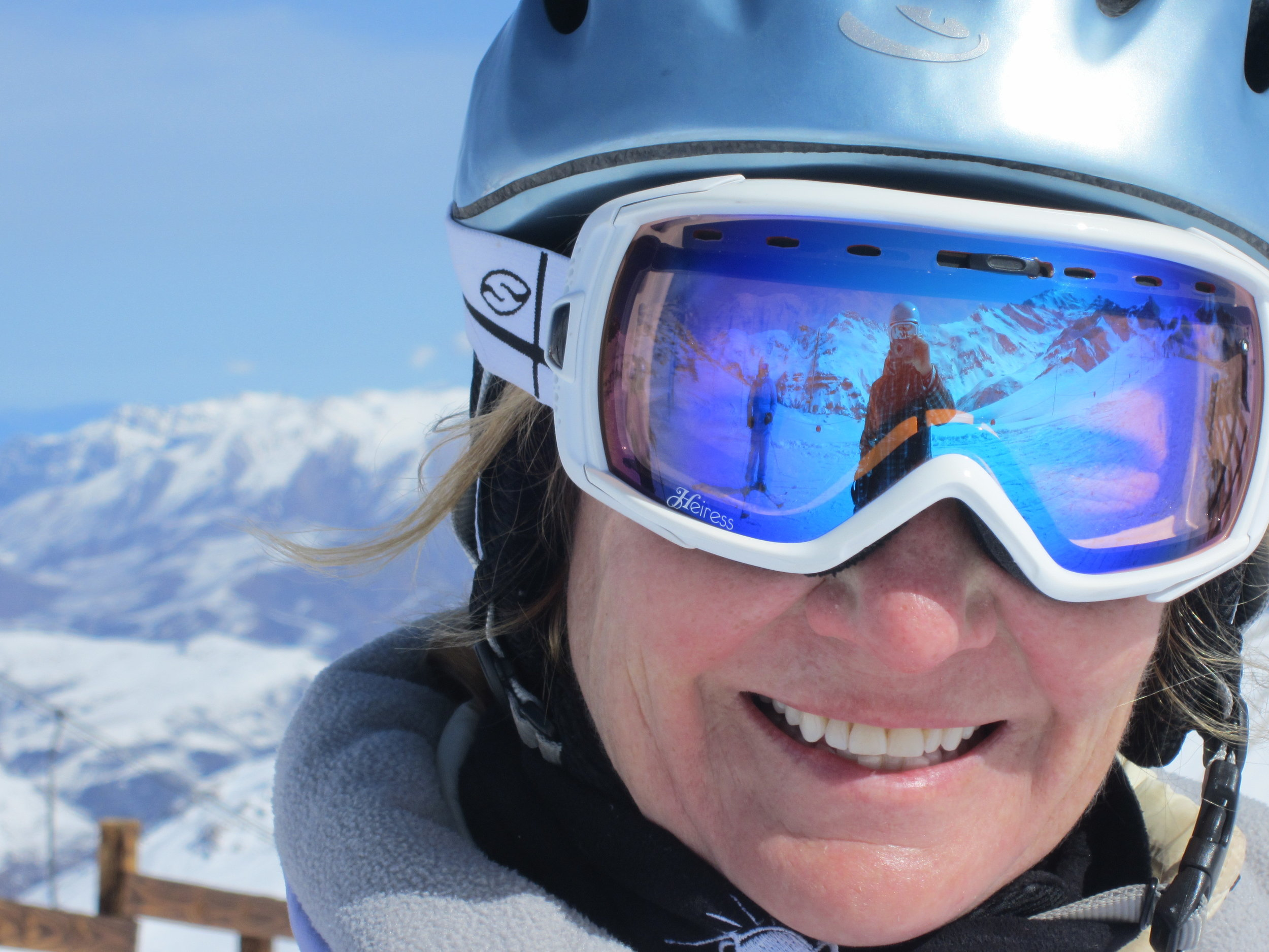 Janet Love, has been skiing with Kim for 23 years!
