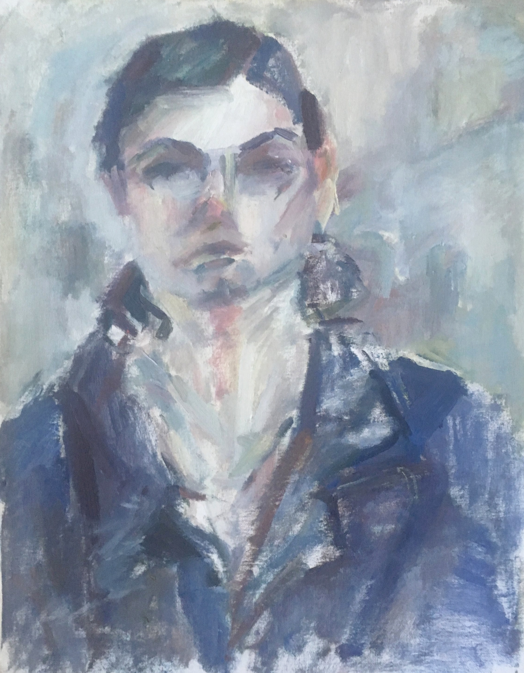 """Savannah , oil on canvas, 20"""" x 16"""", 2017"""