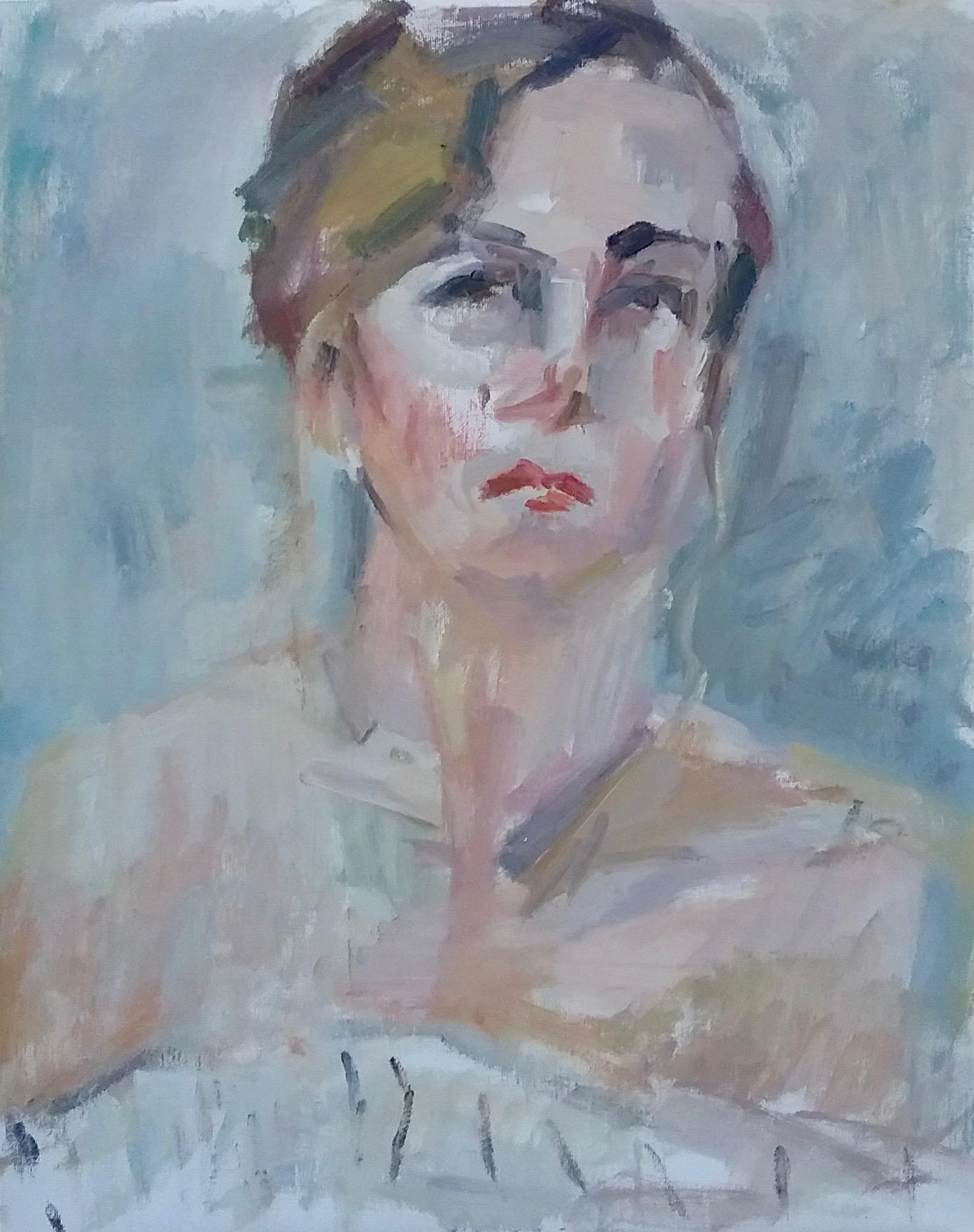 "Lor , oil on canvas, 20"" x 16"", 2017"