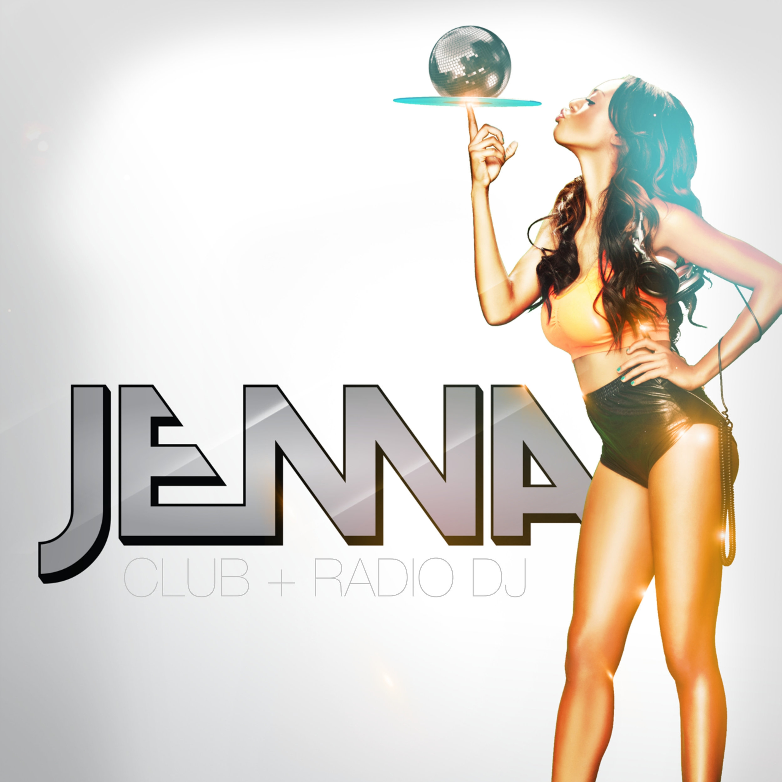 Born and raised in Las Vegas, it was inevitable for DJ Jenna to become connected with music.  She began working at The Beach Nightclub, one of Las Vegas' first night clubs, as the Entertainment Director.  She began DJing at The Beach Nightclub then gained a residency at the prestigious Wynn & Encore European pool.  DJ Jenna's knowledge of music is vast, however, her passion is electronic house music. She is known for her eclectic high-energy music selection.  DJ Jenna is the only female to mix for the number one radio station in Las Vegas with over 500,000 listeners each week, 98.5 KLUC (a CBS radio station) Afterhours show, CLUB 985