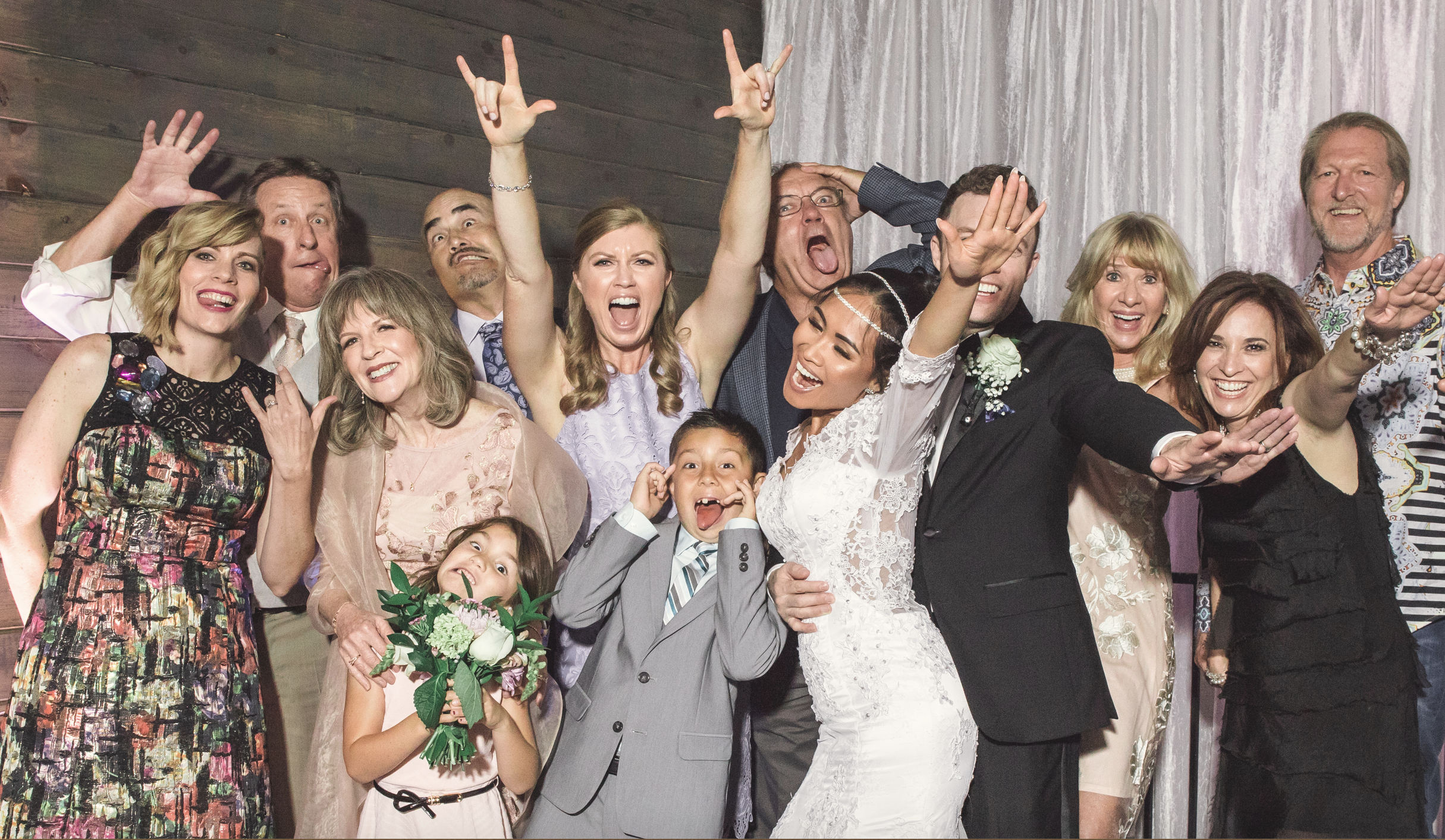 """""""Thank you, VegasETC, for keeping the party going all night!""""  - Anna (bride)"""
