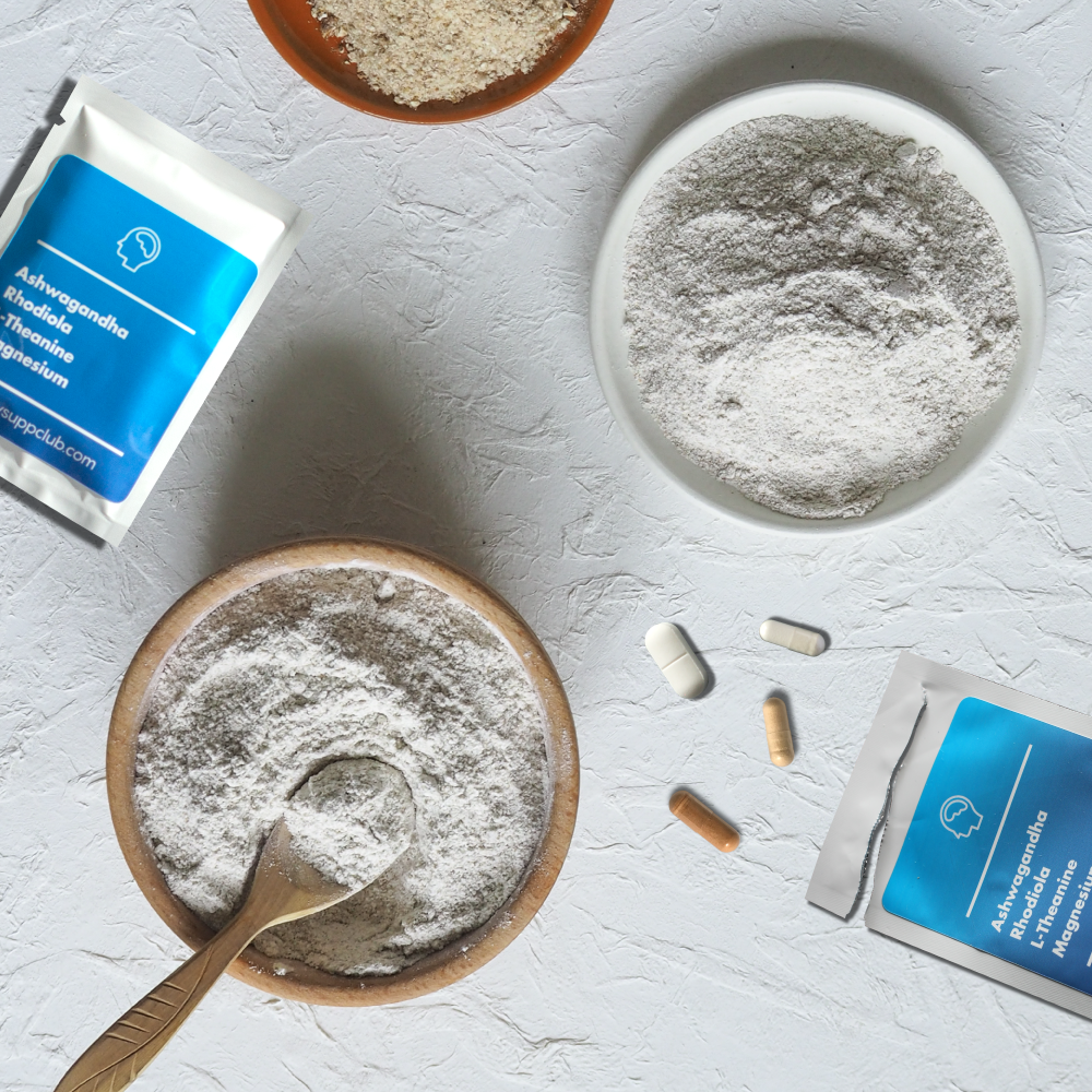 Daily Mood - The most effective nootropics & adaptogens to improve focus, reduce stress & promote calm.