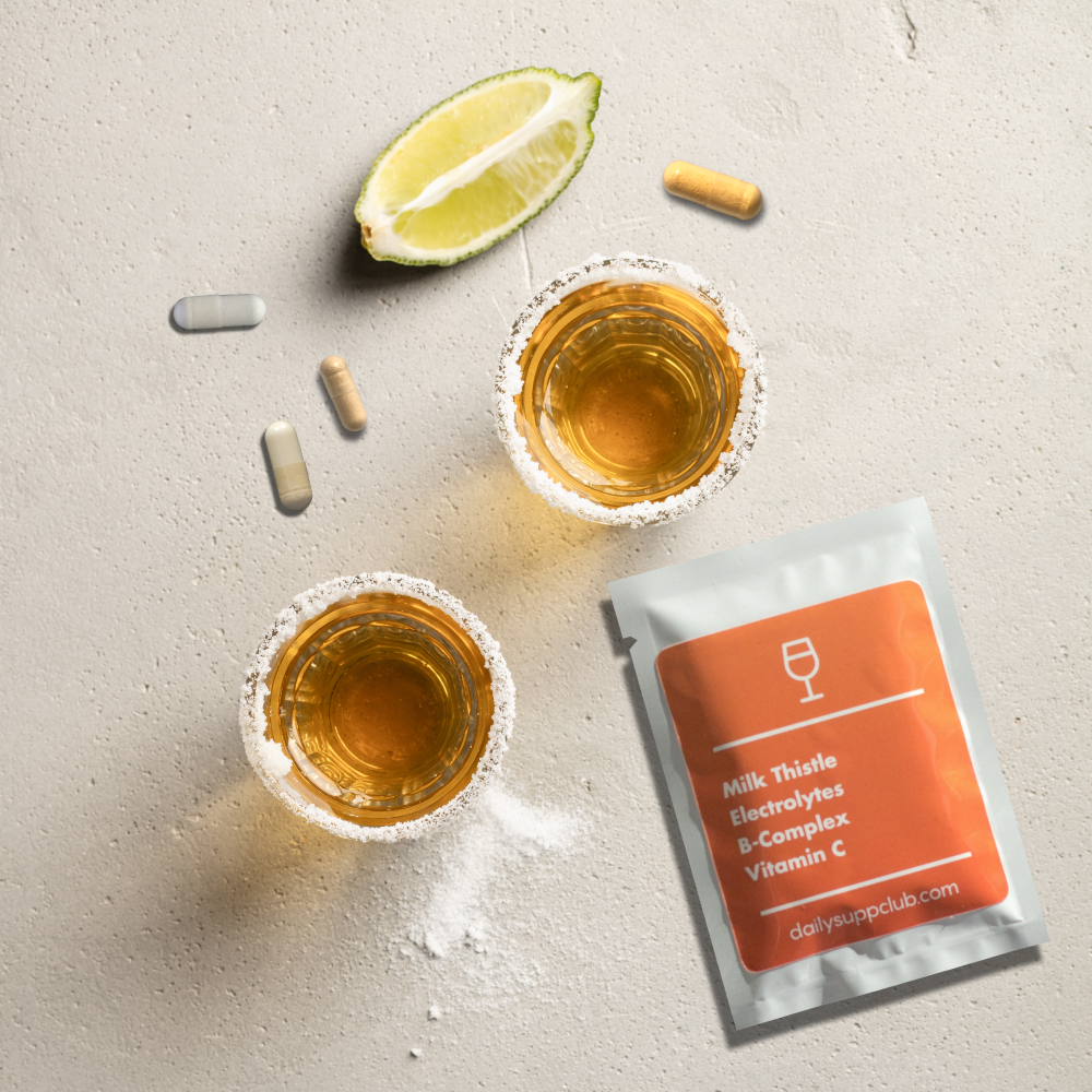 Daily Recovery - The best vitamins & supplements to prevent hangovers, detox your liver & naturally boost energy levels.