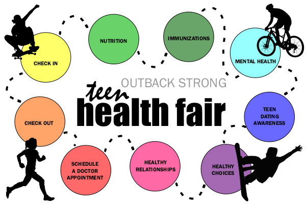 Youths who get each of these stops on their passports stamped during the Outback Strong Teen Health Fair will receive a prize.
