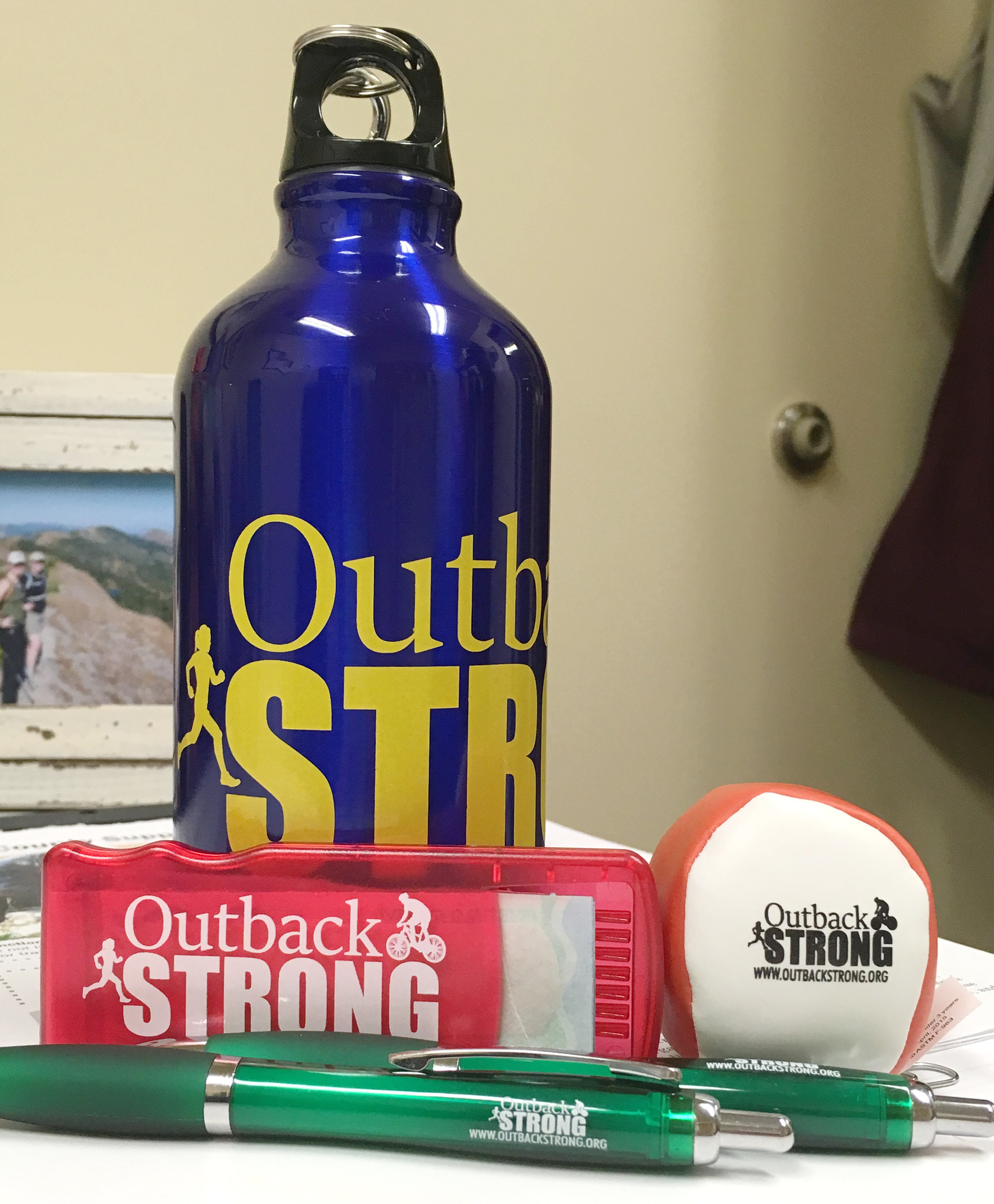 Swag for the Outback Strong Teen Health Fair is starting to arrive.