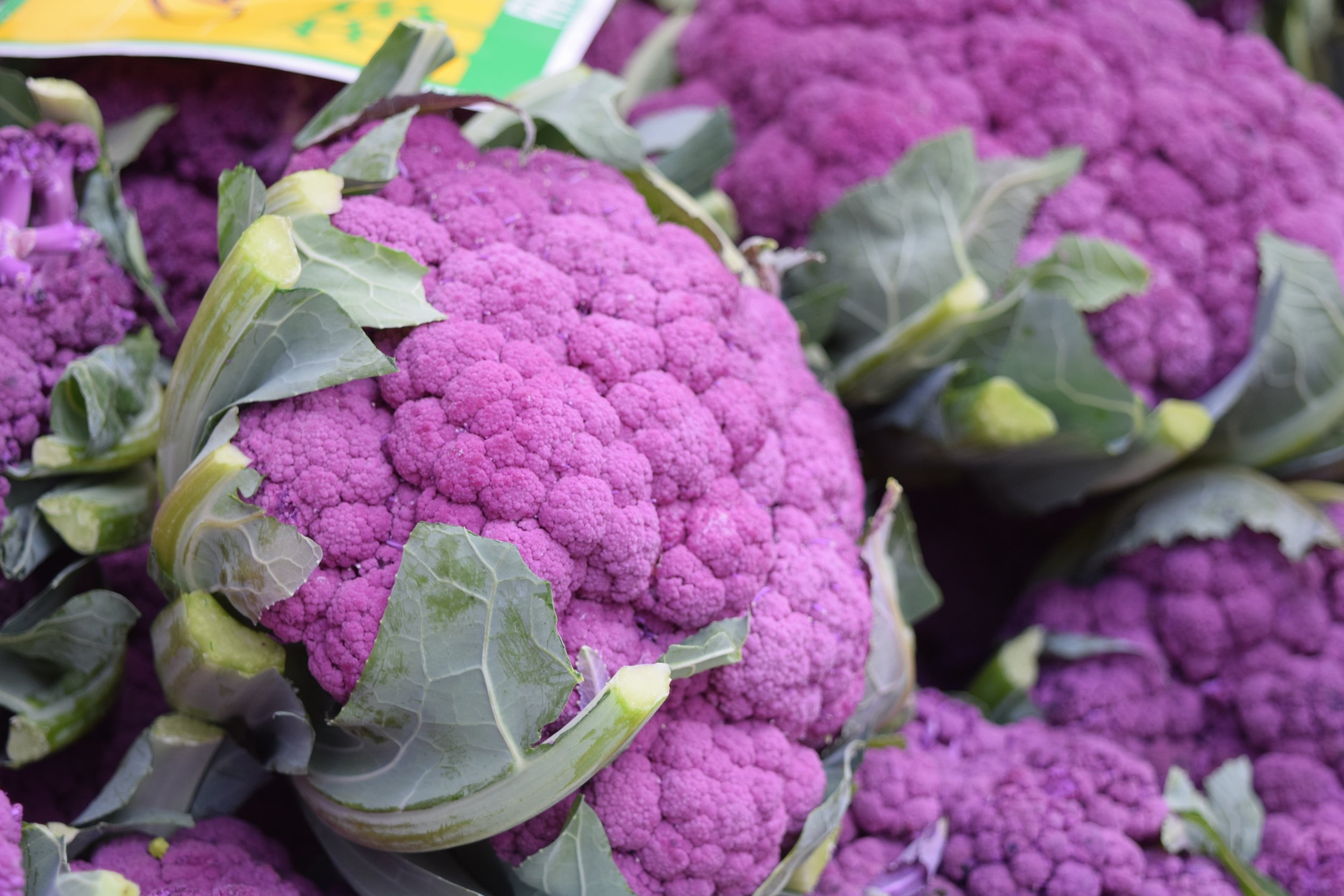 Anthocyanins give blue and purple foods, including purple cauliflower, their color. ( Pixabay.com photo )