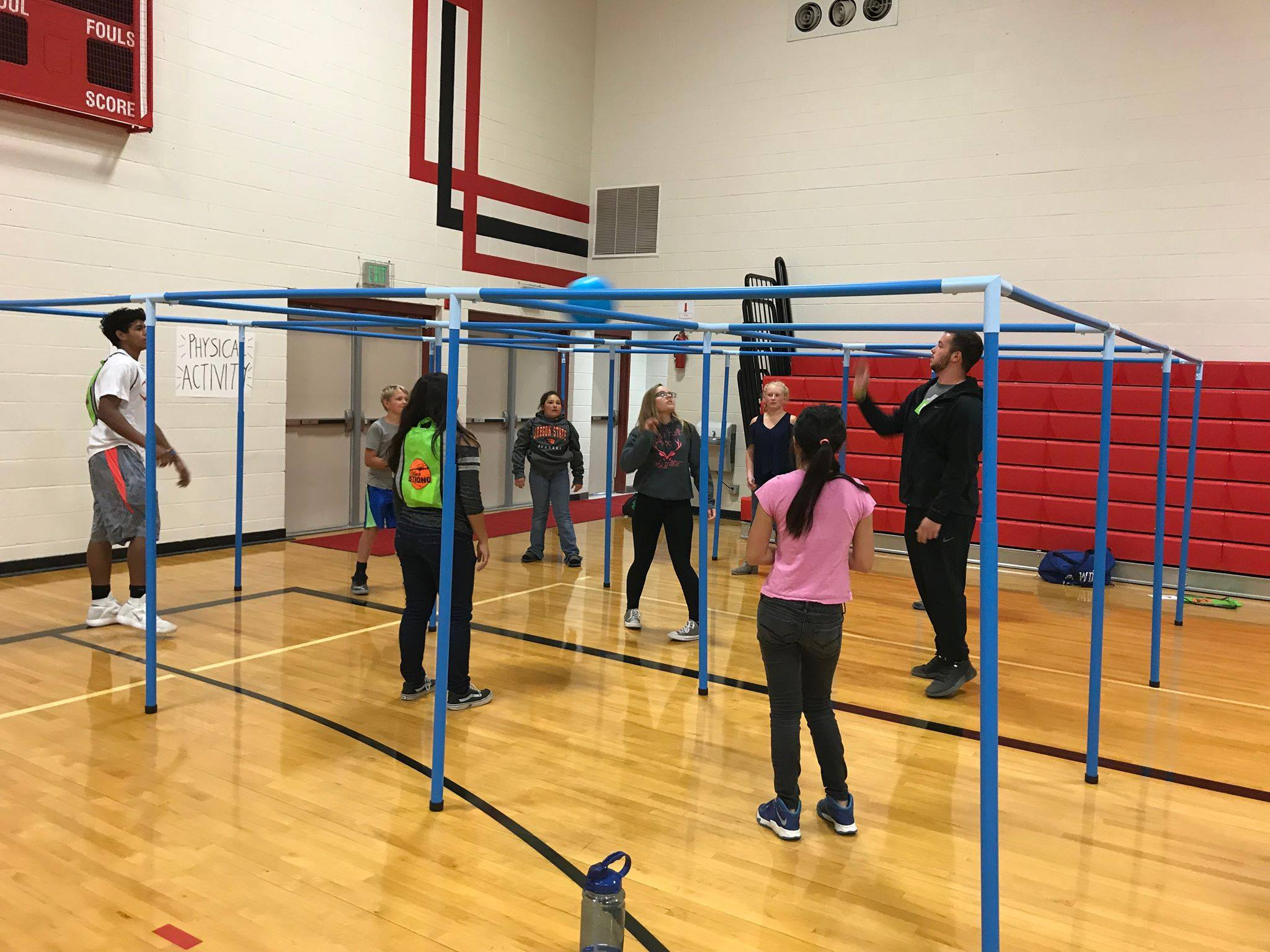 OSU Lake County Extension  helped kids see that physical activity is fun during Outback Strong Teen Health Fair: North at North Lake School in October. (  Arvinder Singh    | Lake Health District )