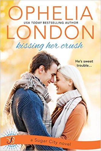 kissing her crush