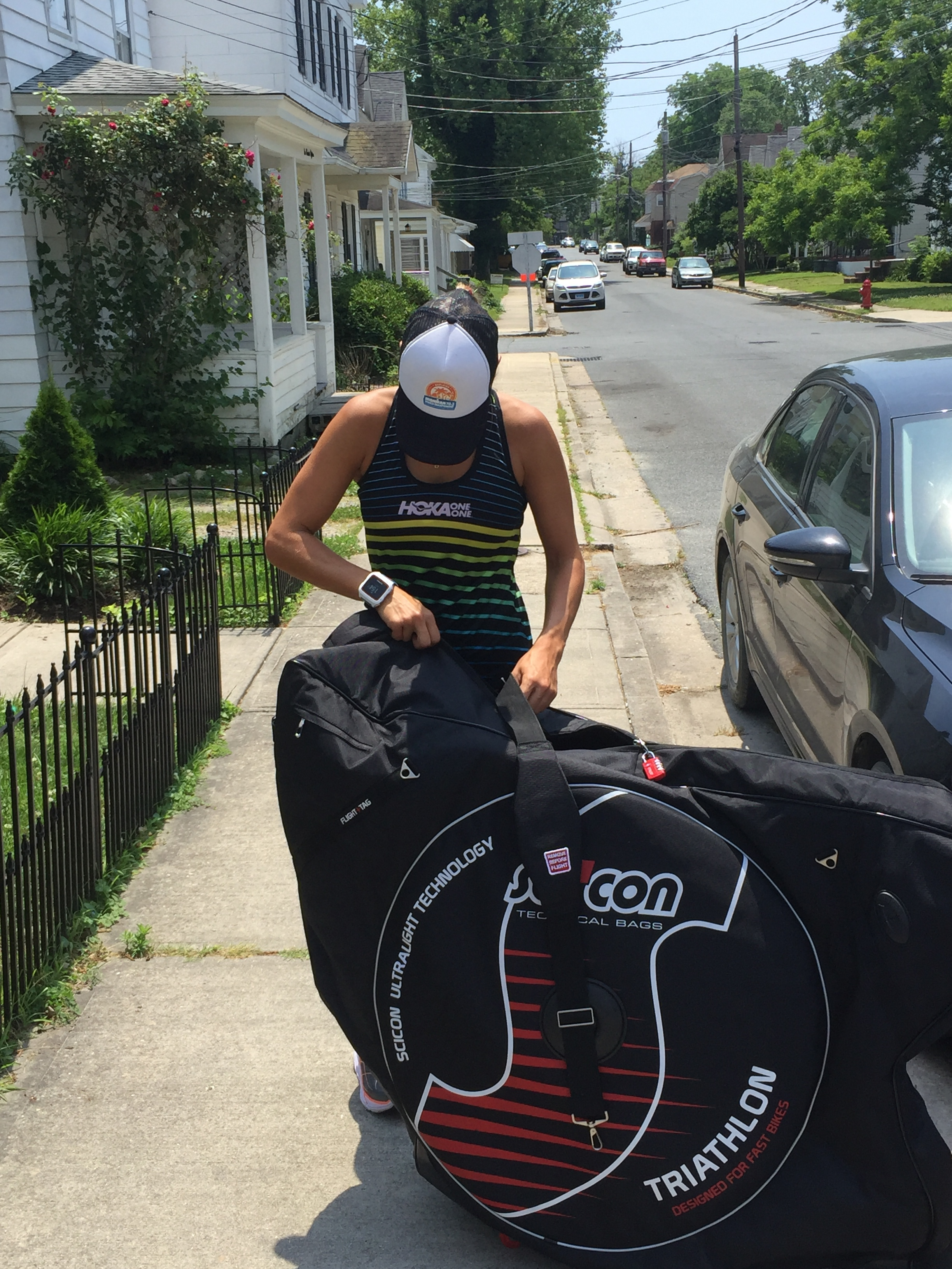TRAVEL LIKE A PRO ! with the TSA 3.0 Triathlon bag, the Official Travel bag for 101Training athletes -