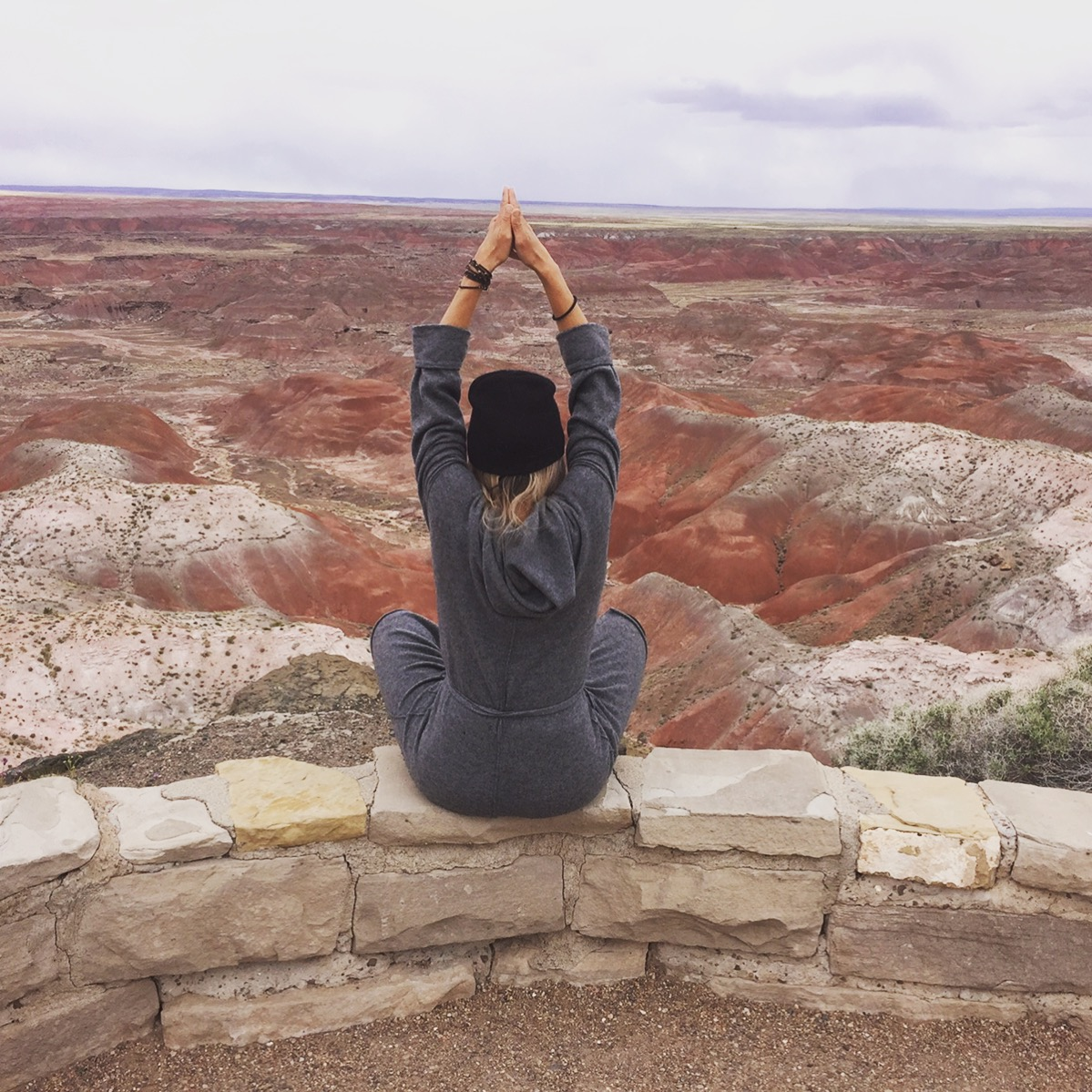 New Mexico - The Painted Forest - Shamanic Meditation & Breathing