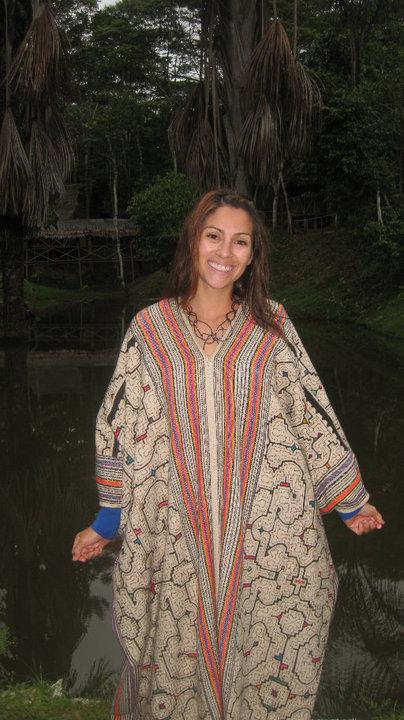 Peru - Shipibo Shamanic Song Cloth