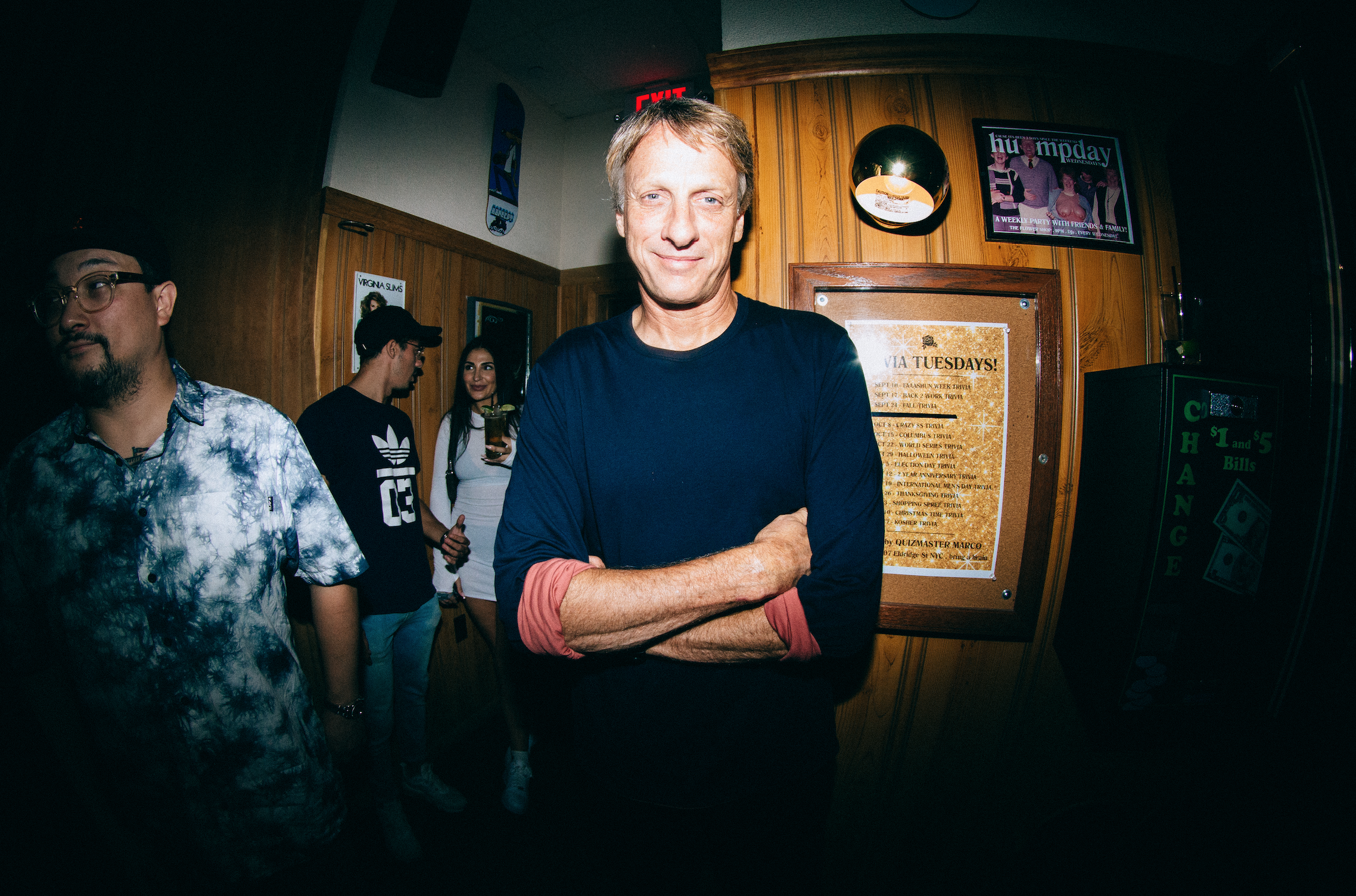 I mean…it's Tony Hawk