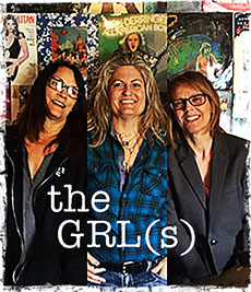 th GRL(s) Nancy Luca, Suzanne Graham, Karen Reed