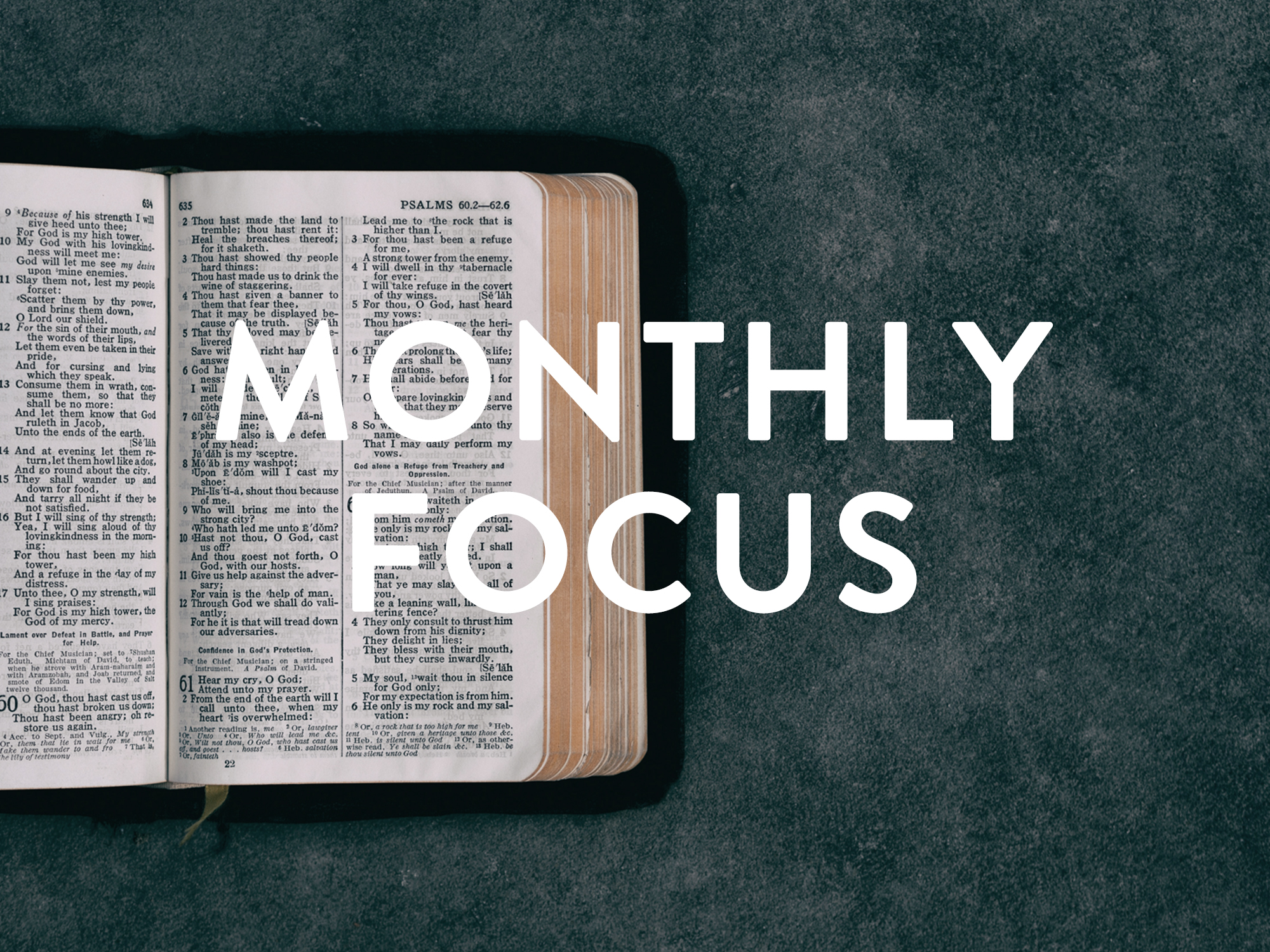 Monthly Spiritual Focus - Each month we focus on a different Scripture...it's just a part of what we do, it's part of the YC DNA.Throughout the month of August our spiritual focus is Value 3 - We value an intimate walk with God.Click the icon to start your monthly memorization