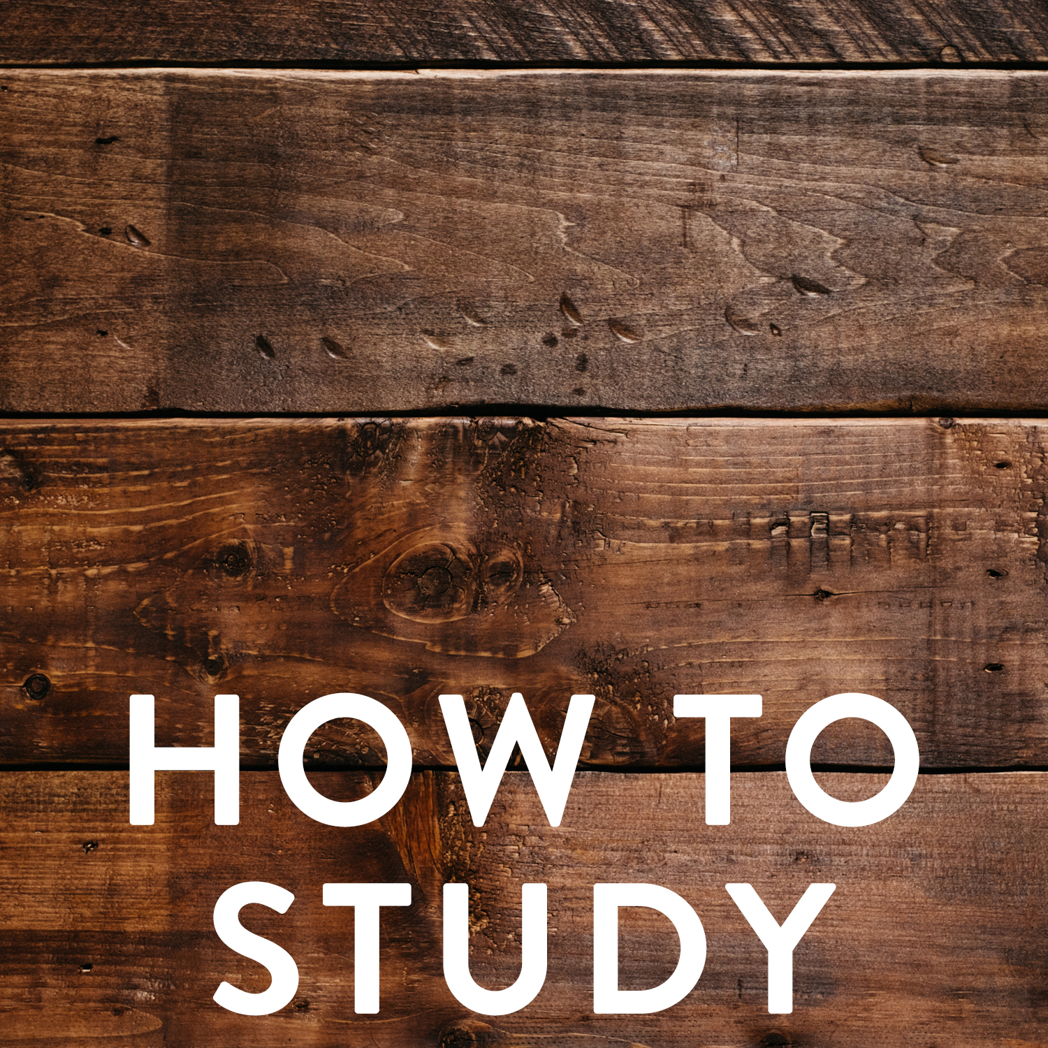 How to study