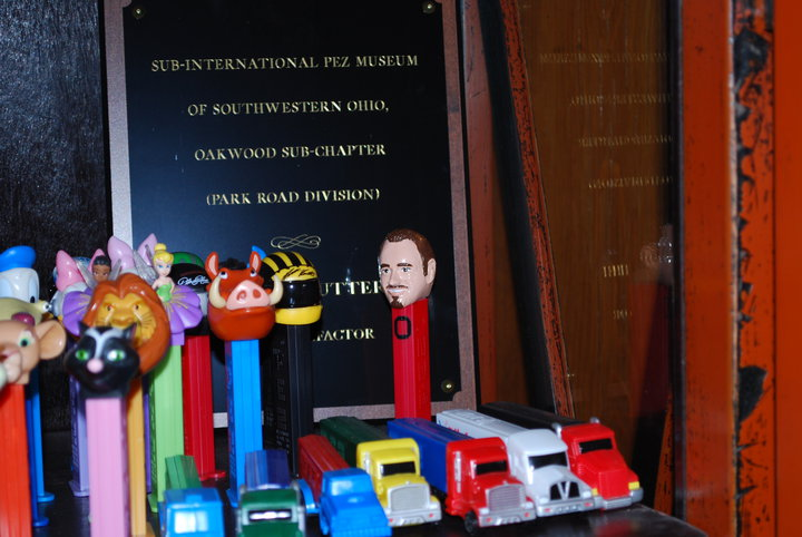 Dr. Steve wishes to publicly acknowledge that he works with the coolest people in the world. For his birthday, the exceptional people of Burke Orthodontics commissioned a world-renowned sculptor to recreate his likeness upon a Pez handle. Perhaps one day this masterpiece will be viewed at the Louvre!