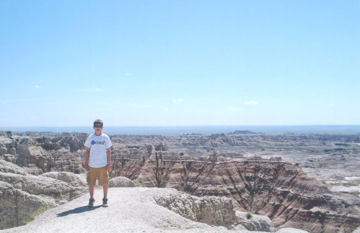 "As the inaugural entry in the ""B.O. Around the World"" series, patient Kyle is spotted on the rim of the Grand Canyon sporting his ""B Cool"" T-Shirt. Thanks for sharing, Kyle, and we are glad you watched your step!"