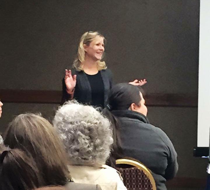 Diane Decker HR training session in Anchorage, Alaska