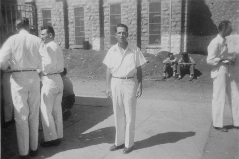 BlueJacket at Oklahoma State Reformatory, 1951.