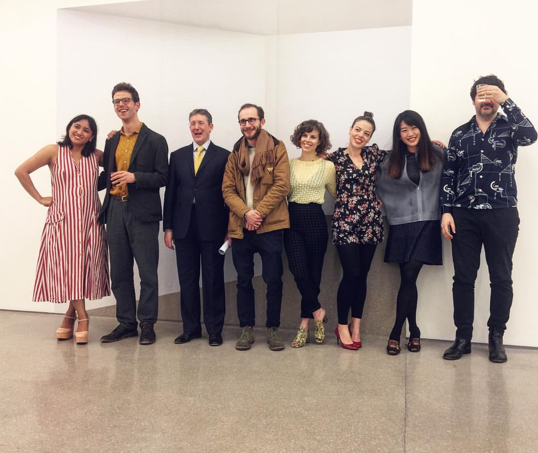 From left to right: Sinta Tantra, Morgan Gostwyck-Lewis, Christopher Smith, Marco Palmieri, Catherine Parsonage, Caroline Cloutier, Vivian Zhang, Neil McNally