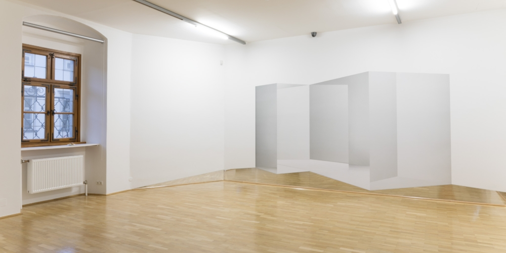 Caroline Cloutier, Counter-Spaces , Digital prints, mirror, 2016-2017