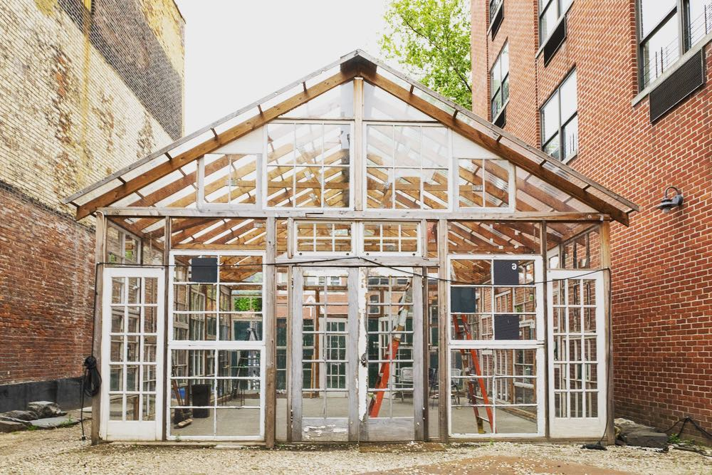 The Invisible Dog Art Center - 10 days residency in The Glass House