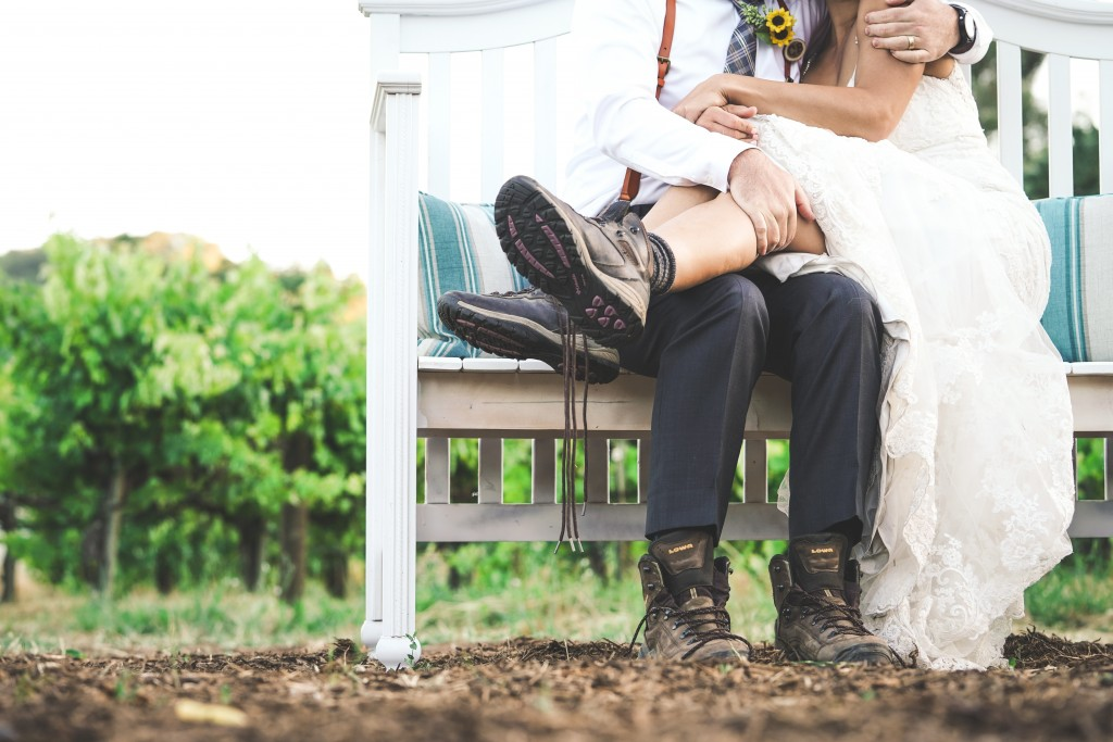 A couple getting married on a farm.jpg