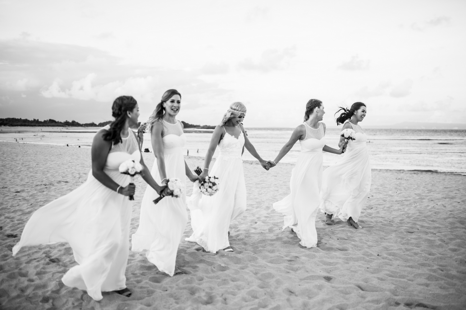 Beach Weddings - We can plan beach weddings overlooking the white sand where palm trees sway in the breeze, and tropical flowers ramble.