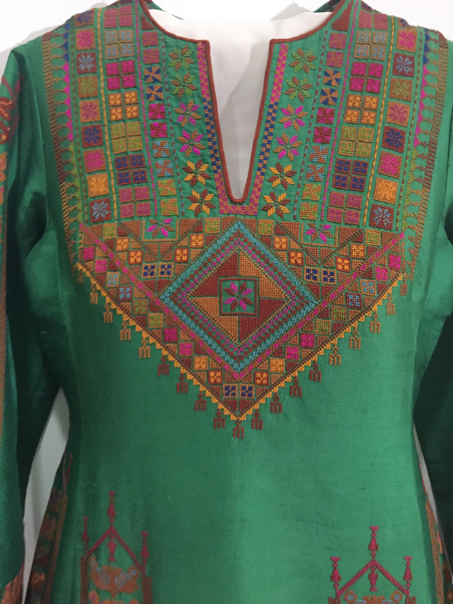 Thobe from the Collection of Mrs. Hala Salaam, 1970s