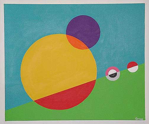Circles by Bruce Gray