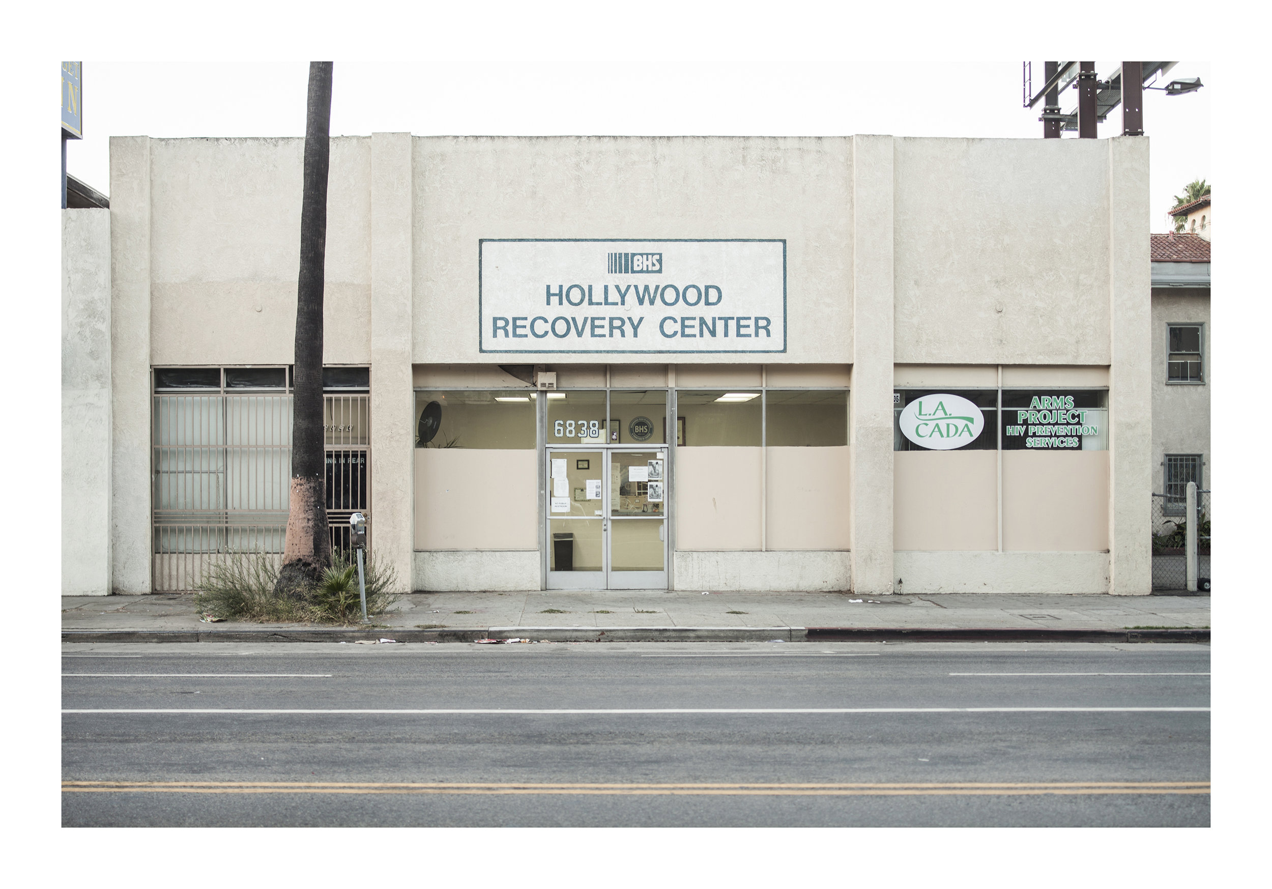 Hollywood Recovery Center Los Angeles, California 2016