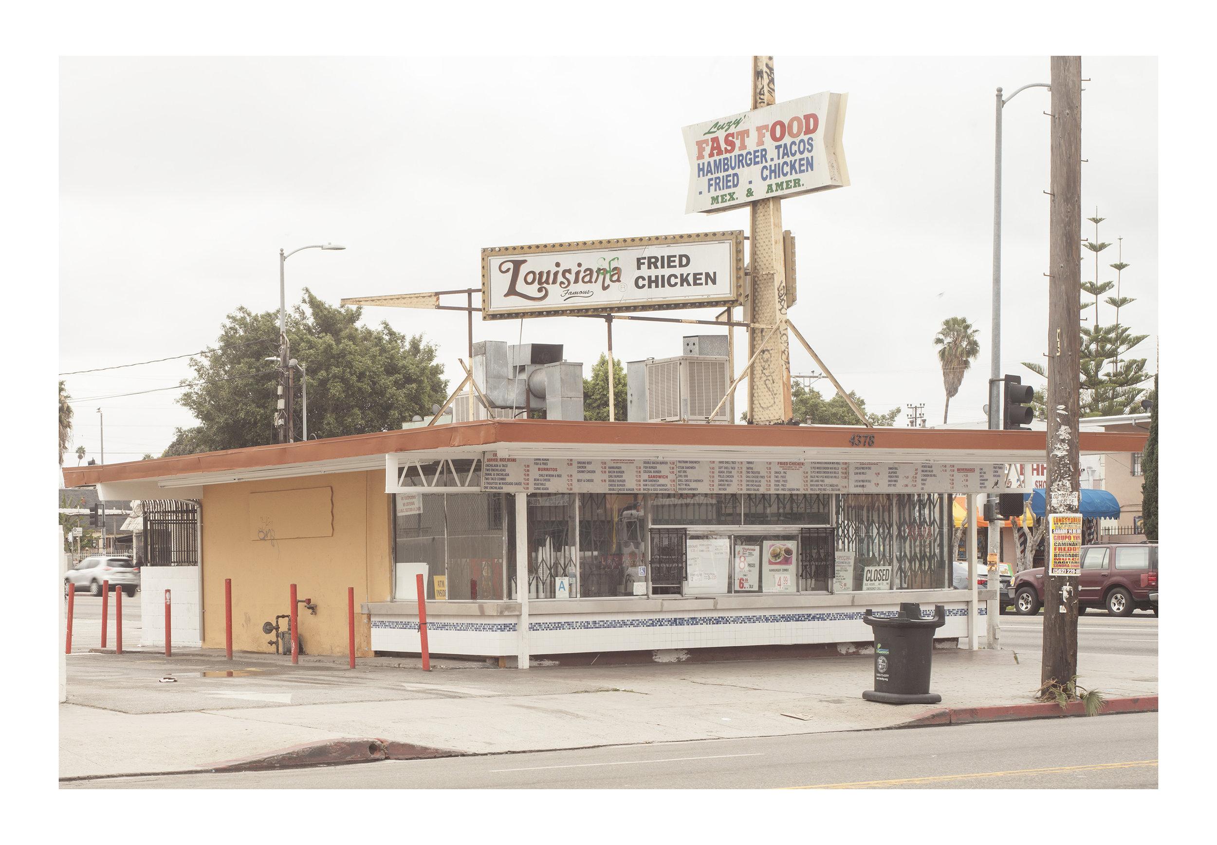 Fast Food Los Angeles, California 2016