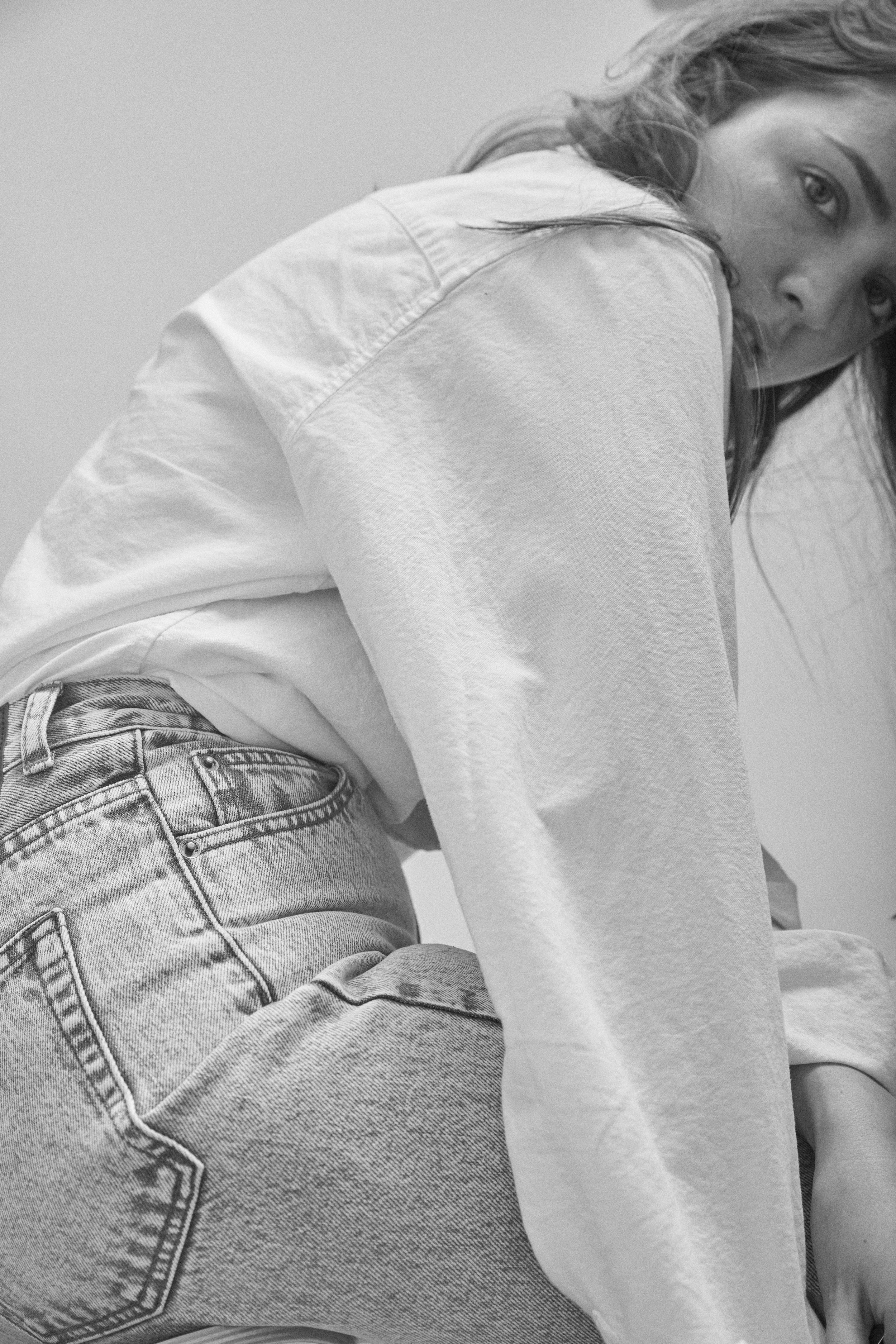 Nora jeans by Dr Denim Uniqlo button up