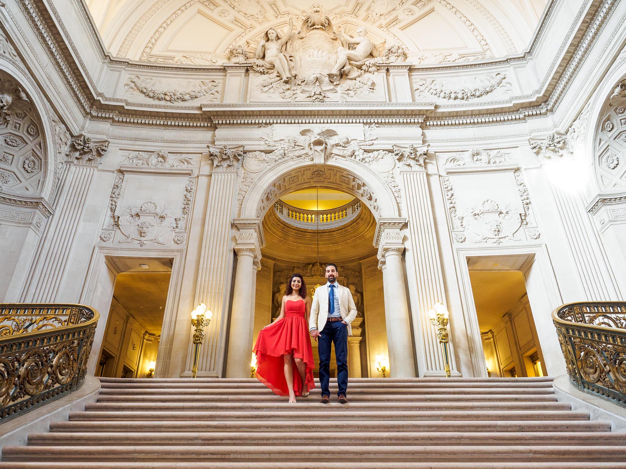 San Francisco City Hall Engagement Photo Session-5.jpg