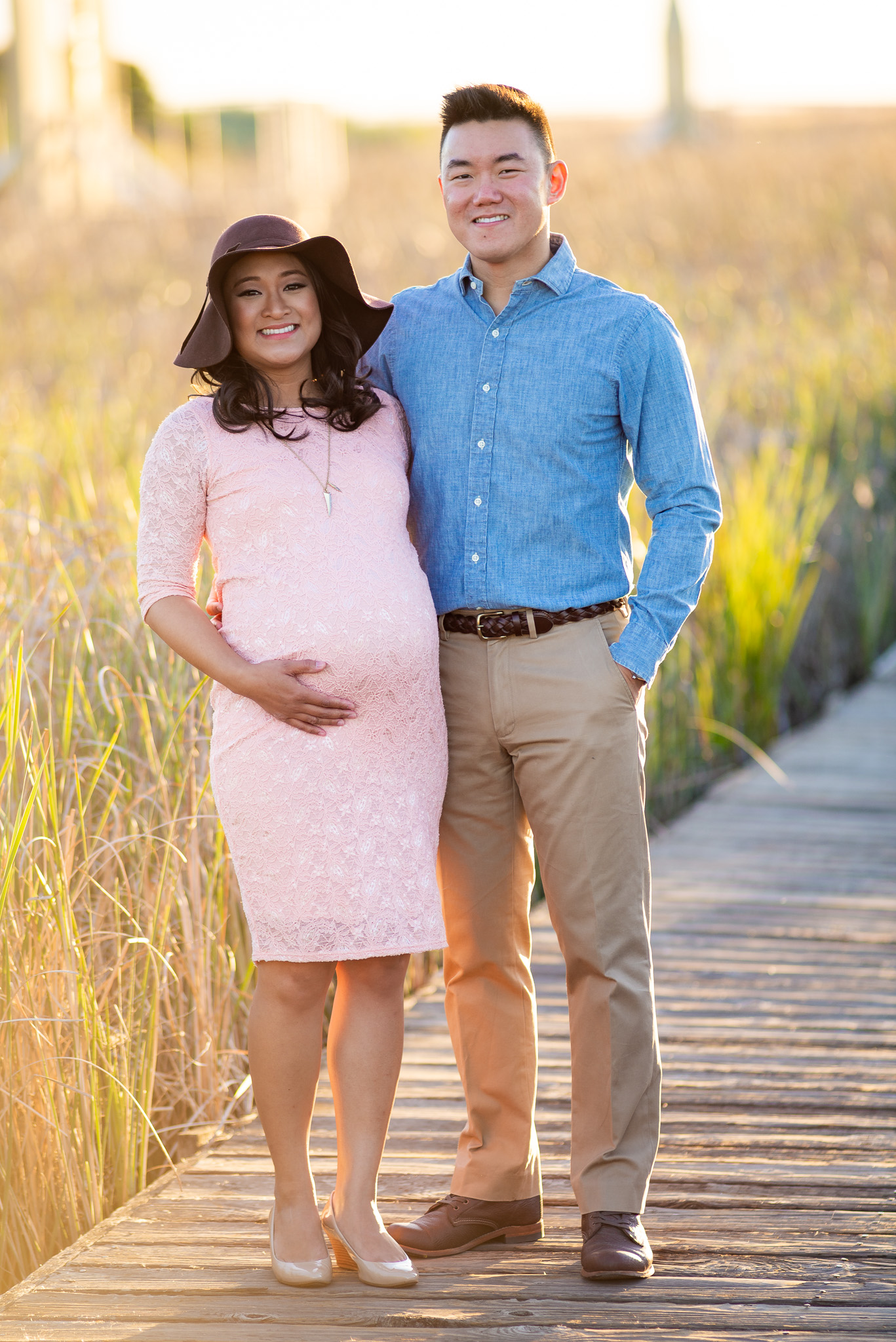 Evening Sunset Maternity Photo Shoot-9.jpg