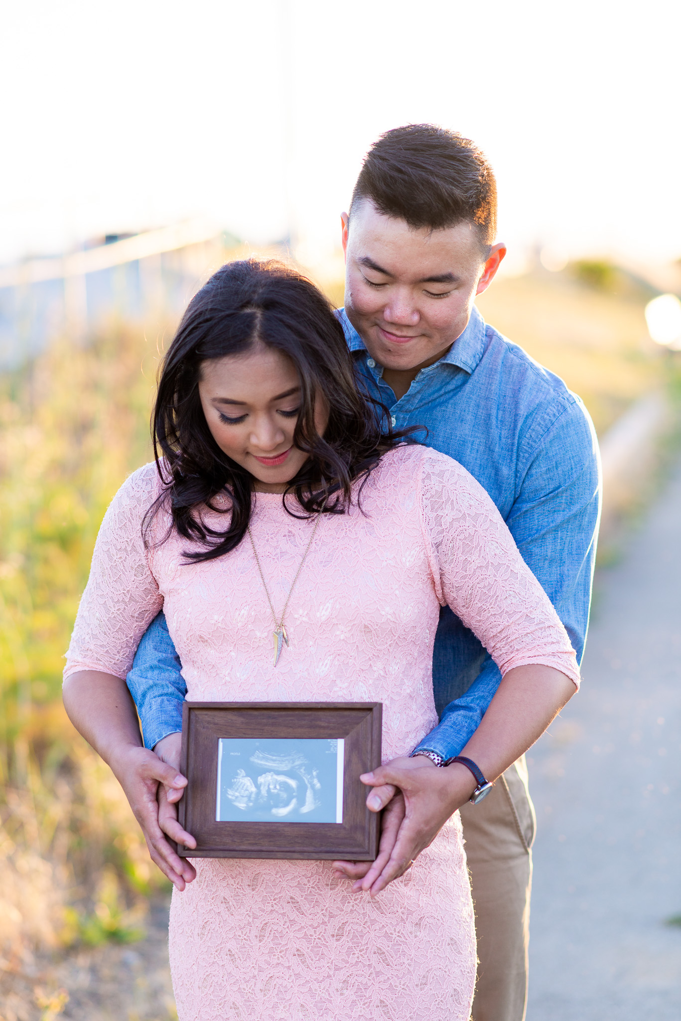 Evening Sunset Maternity Photo Shoot-12.jpg