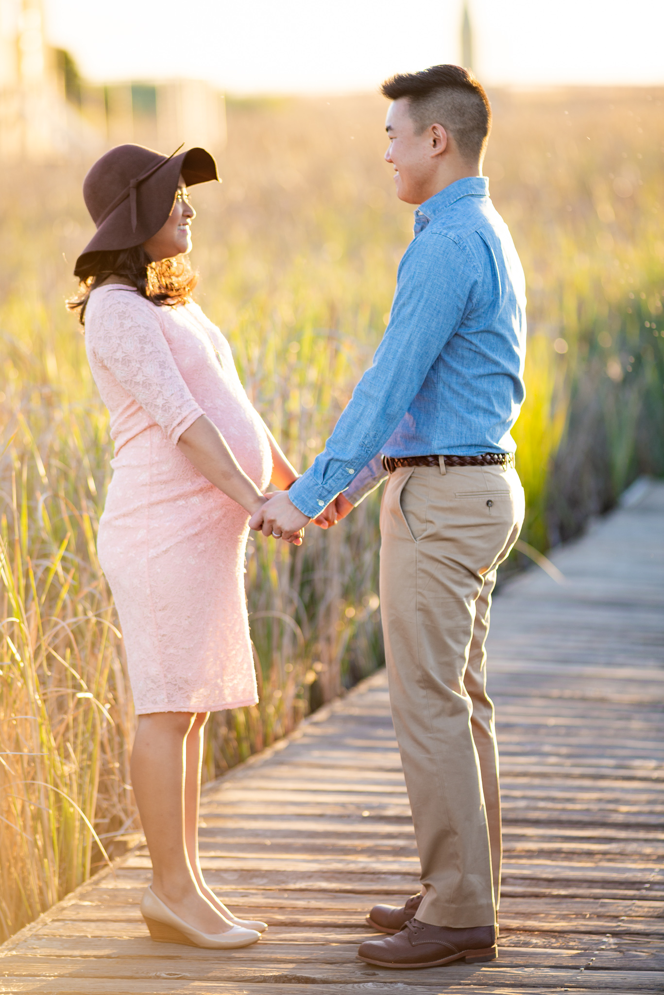 Evening Sunset Maternity Photo Shoot-17.jpg