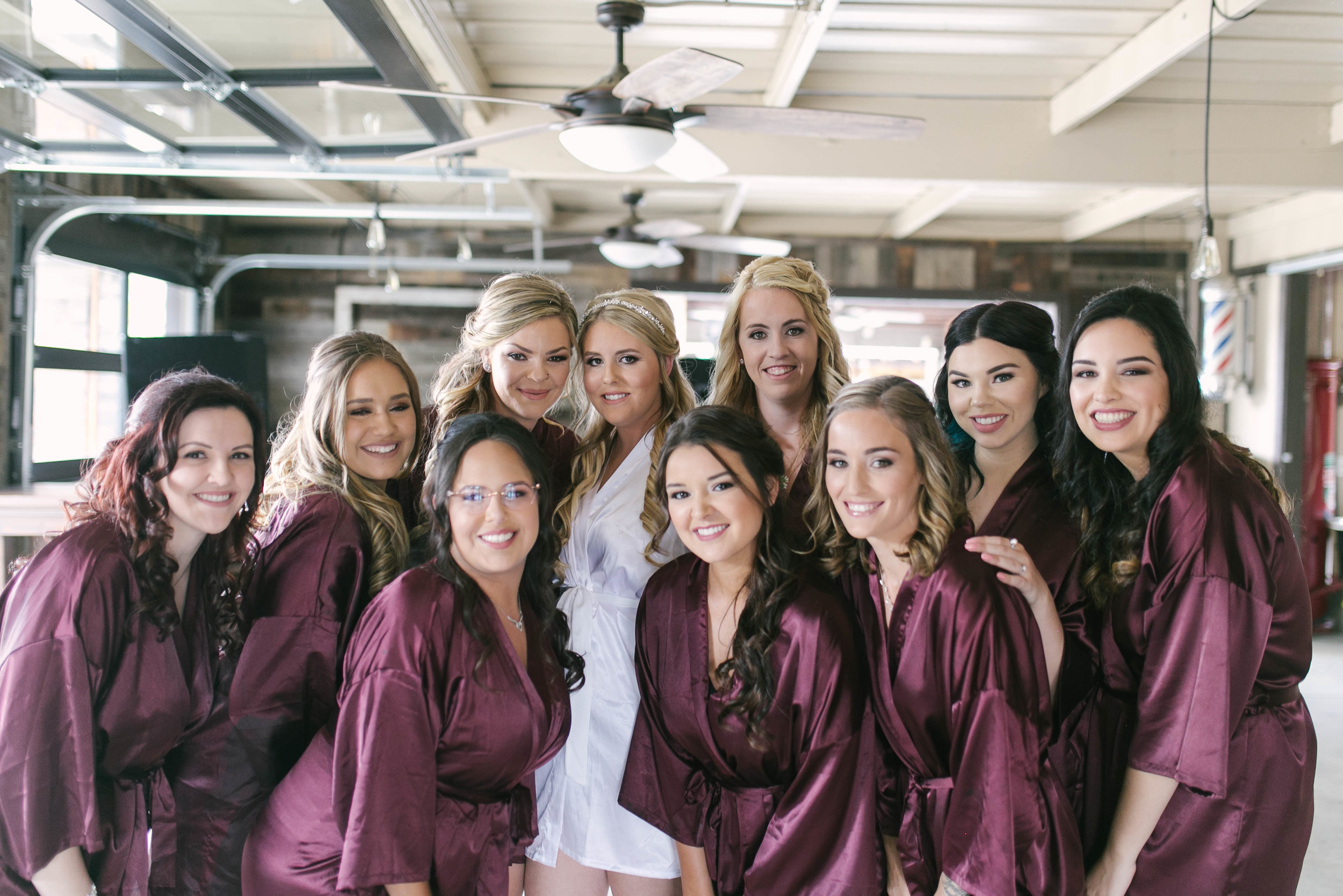 These girls were such a blast, and every single one of them had their brides back.......