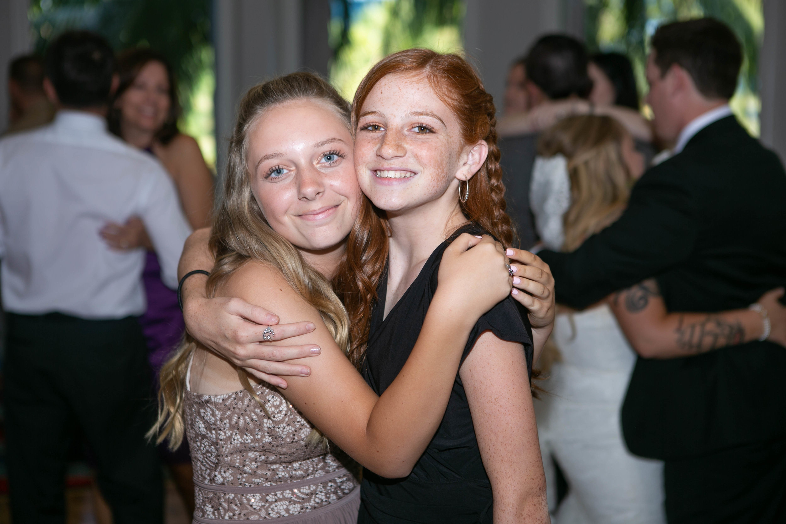 My daughter, with her Beautiful best friend Emmie