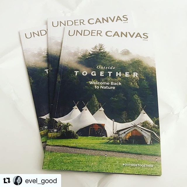 Last fall I traveled to the Great Smoky Mountains to photograph the opening of @undercanvas new location. Here is the result-the cover of the magazine.  Thanks for the opportunity! #coverphoto #photography #editorial #blogger #camping #outdoorphotography #outdoorlifestyle #magazinecover