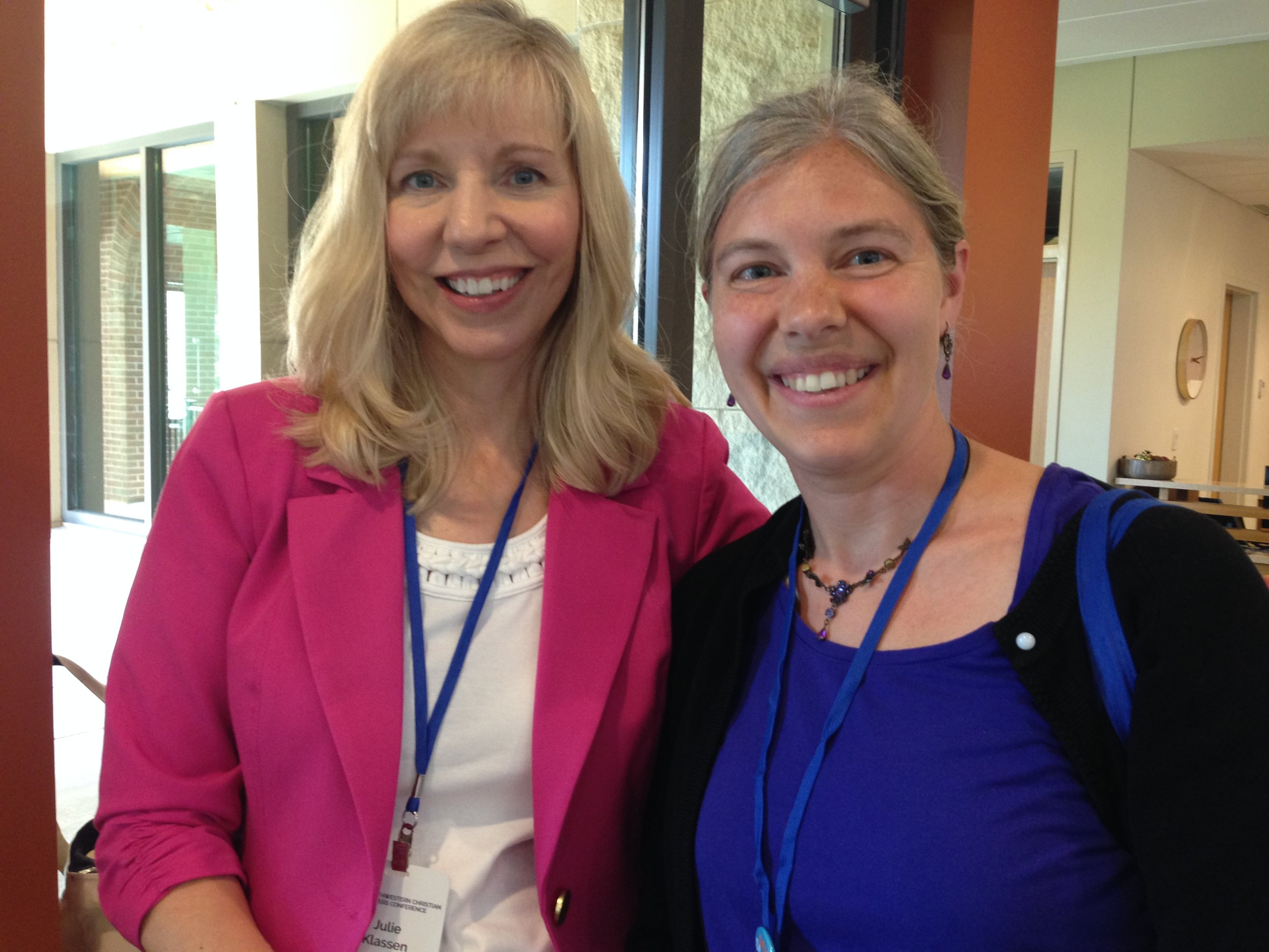 Julie Klassen and Yours Truly!!