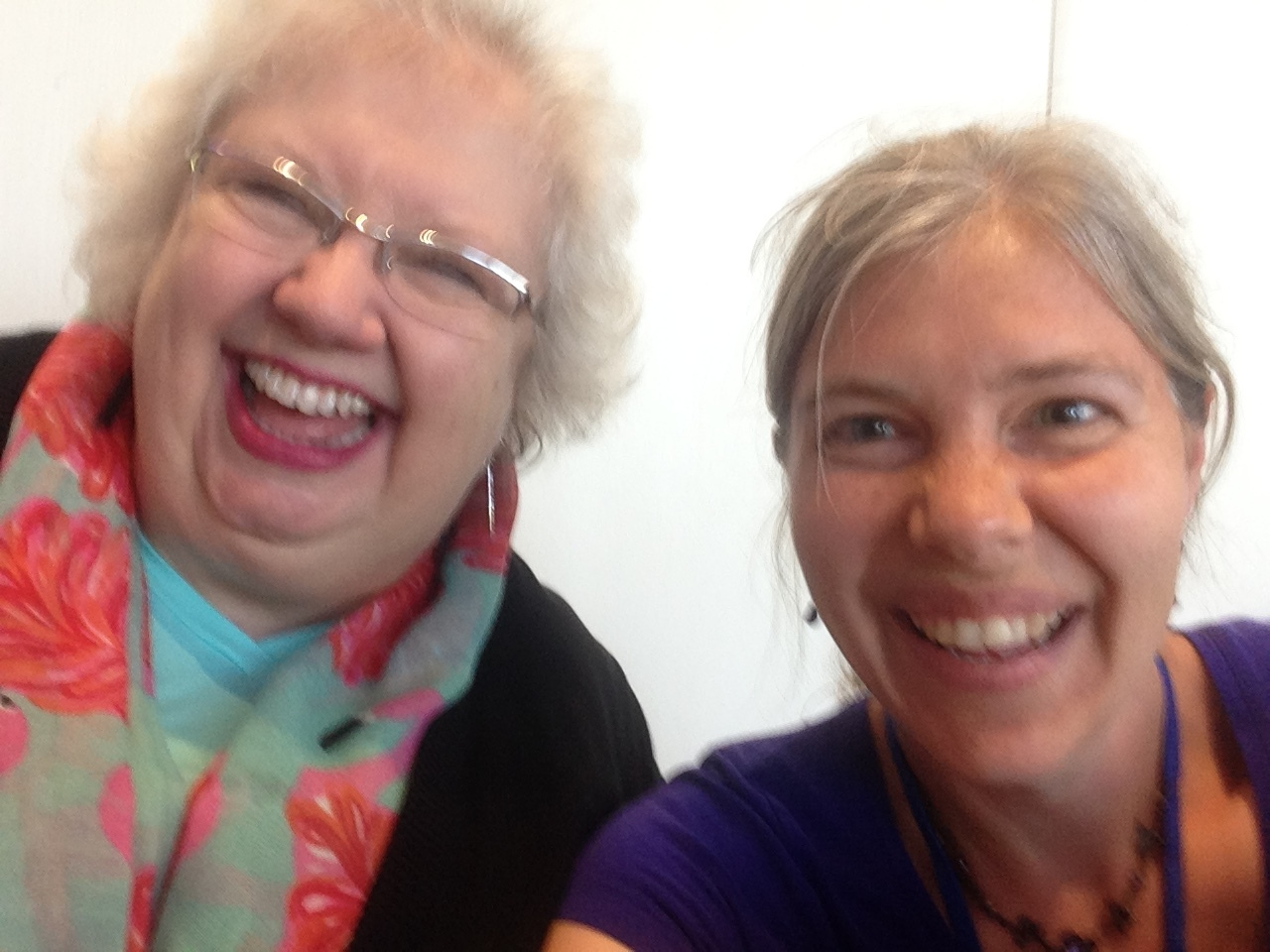 The beautiful author, Liz Curtis Higgs, herself! I'm terrible at taking selfies, you guys.