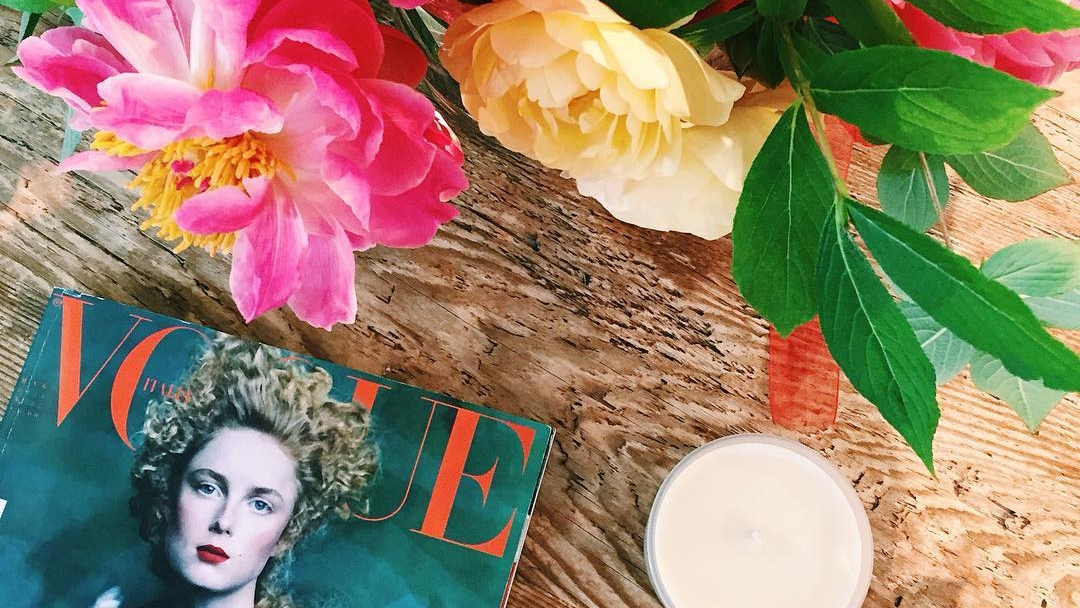 Magazine and flowers.jpg