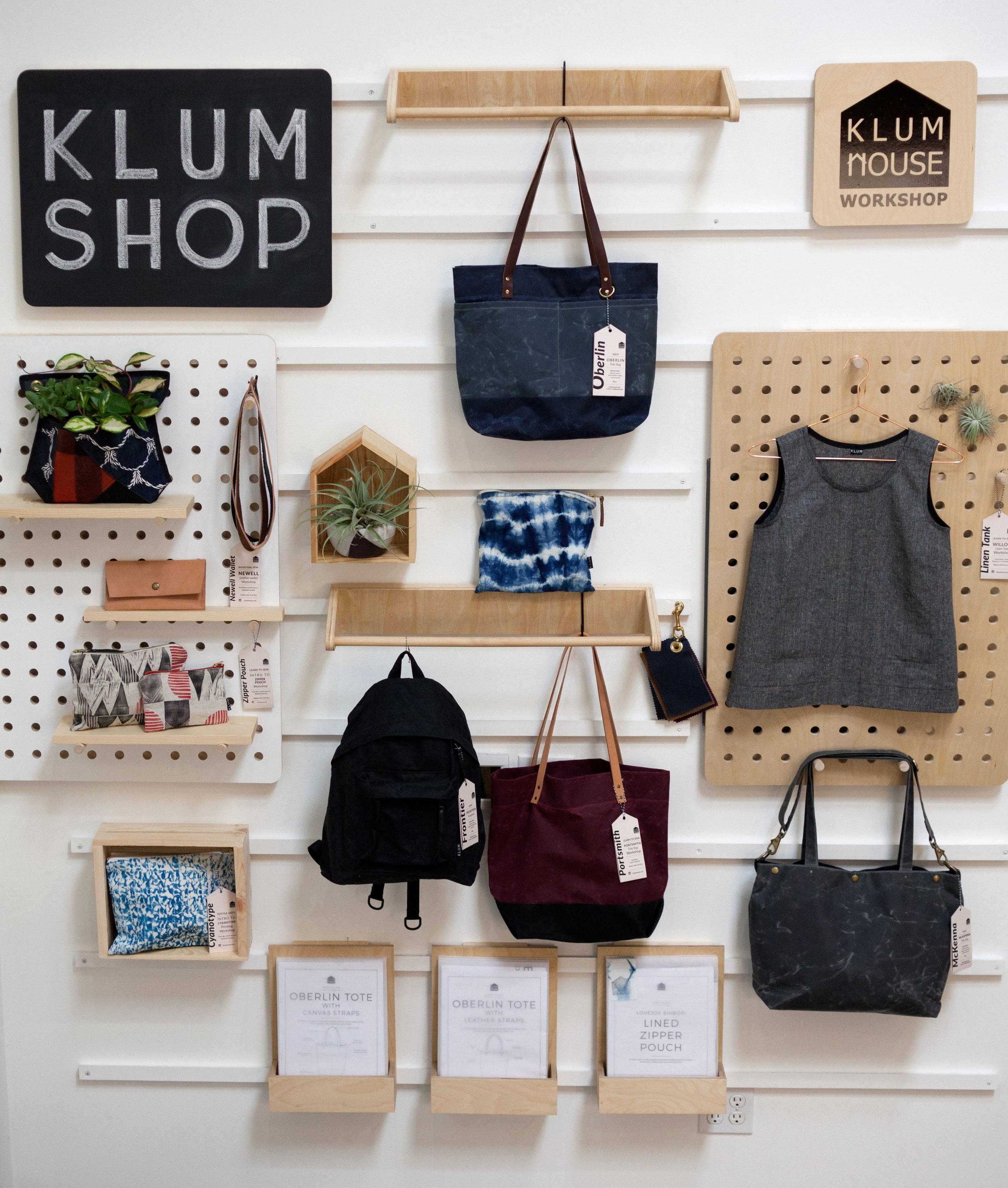 Klum House Display Wall