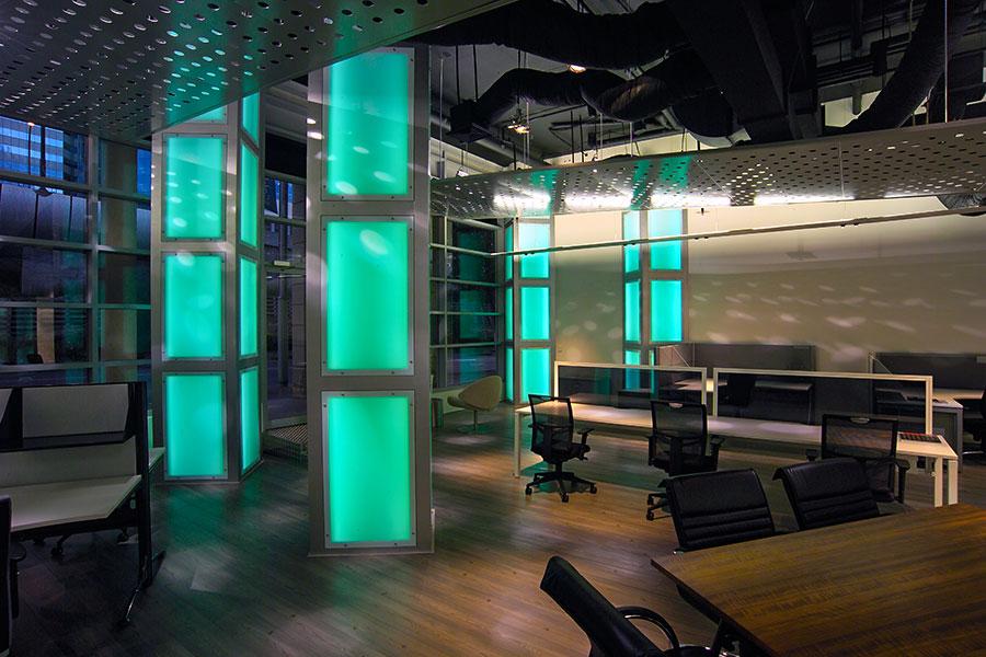 RJ Workspace Showroom - King St Wharf
