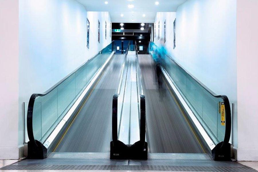 Tamworth Square escalator