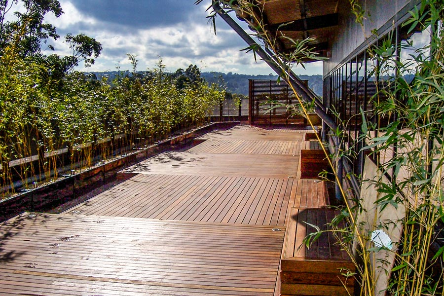 Macquarie University outdoor area