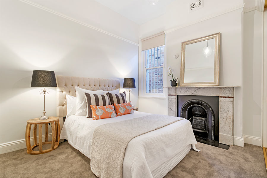 Macauley Rd Stanmore bedroom renovation